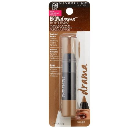 Maybelline New York Brow Drama Pomade Crayon, Blonde