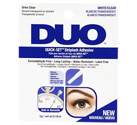 Duo Quick Set Striplash Adhesive Eyelash Glue Clear