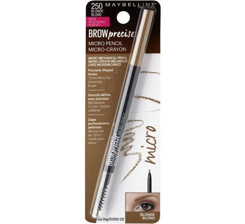 Maybelline Brow Precise Micro Eyebrow Pencil Makeup, Blonde