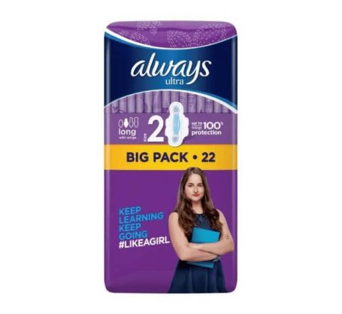 Always Ultra Long Plus with Wings Duo Sanitary Pad 22PK