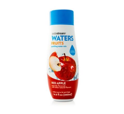 SodaStream Fruits Red Apple Sparkling Water Drink Mix 440 ml