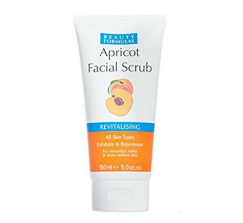 Beauty Formulas Apricot Facial Scrub Revitalising - 150ml