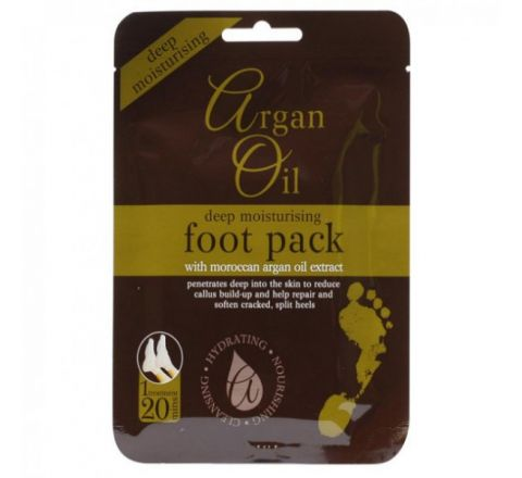 Deep Moisturising Foot Pack with Moroccan Argan Oil Extract