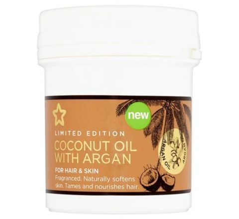 Superdrug Coconut Oil with Argan 125ml