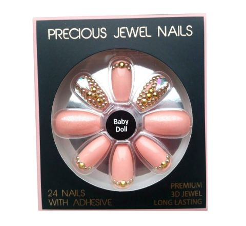 Primark - Precious Jewel Nails - Baby Doll (False Nails)