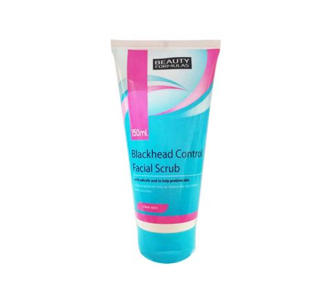 Beauty Formulas Black Head Control Facial Scrub - 150 ml