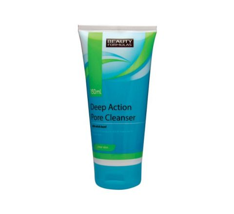 Beauty Formulas Deep Action Pore Cleanser 150ml