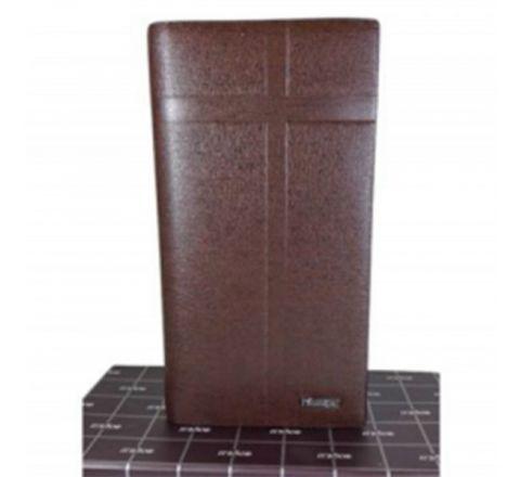 Bogesi Leather Coffee Original Wallet for Men