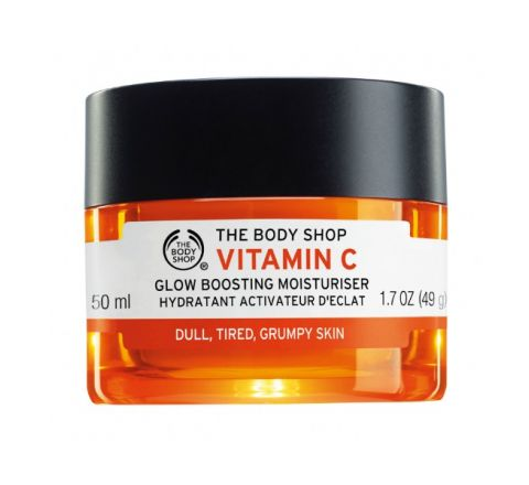 The Body Shop- Vitamin C Glow Boosting Moisturiser