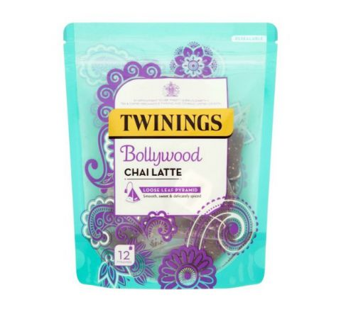 TWININGS BOLLYWOOD CHAI LATTE - 12 PYRAMID BAGS