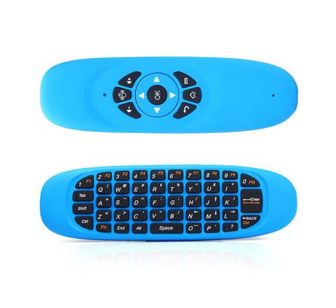 GYROSCOPE FLY AIR MOUSE C120 WIRELESS GAME KEYBOARD - BLUE
