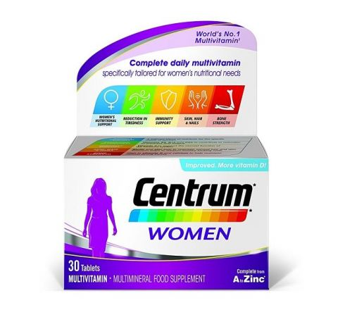 Centrum Complete Daily Multivitamin 30 Tablets for Women