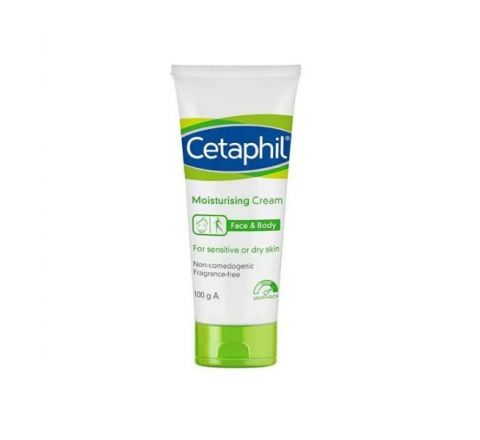 Cetaphil Moisturising Cream 100g - For Sensitive or Dry Skin