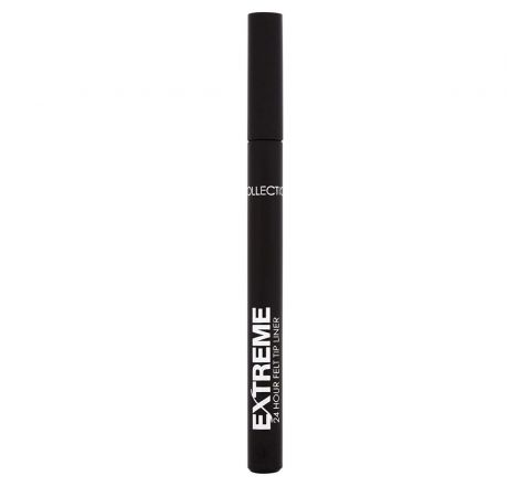 COLLECTION Extreme 24HR Felt Tip Eyeliner,Brown.