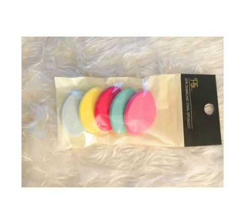 PS Diamond Oval Makeup Sponges - 5 Pack