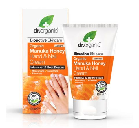 Dr Organic Manuka Honey Hand & Nail Cream 125ml