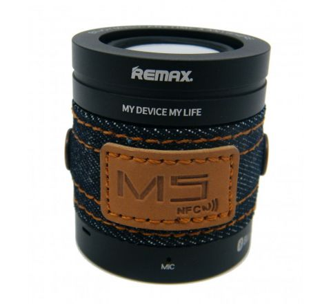 REMAX RB-M5 BLUETOOTH SPEAKER BLACK