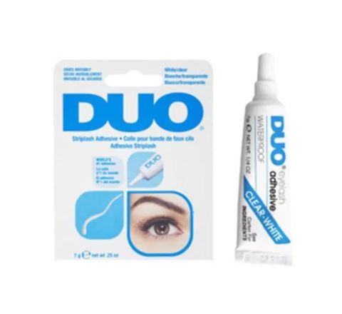 Duo Striplash Eyelash Glue Clear White 7g