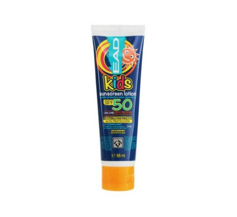 EAD Kids High Protection Water Resistant Sunscreen Lotion UVA & UVB SPF 50 88ml