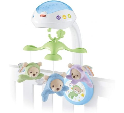 Butterfly Dreams 3-in-1 Projection Mobile, New-Born Baby