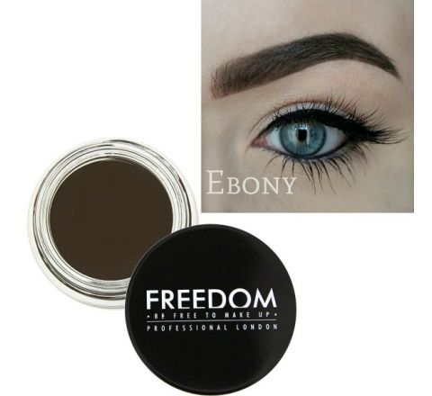 Freedom Makeup London Pro Brow Pomade - Ebony