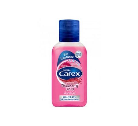 Carex Fun Edition Strawberry Laces Hand Gel 50ml