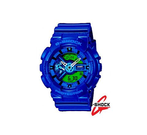 G SHOCK GA-110 WATCH BLUE