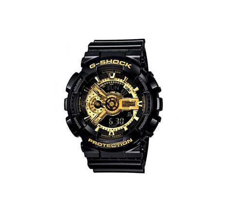 G SHOCK GA-110 WATCH GOLD