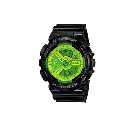 G SHOCK GA-110 WATCH GREEN