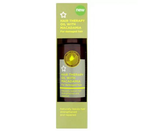 Superdrug Hair Therapy Oil with Macadamia 50ml