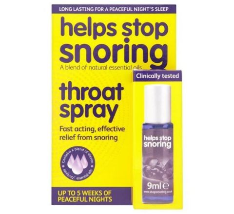 Help Stop Snoring Spray 9ml