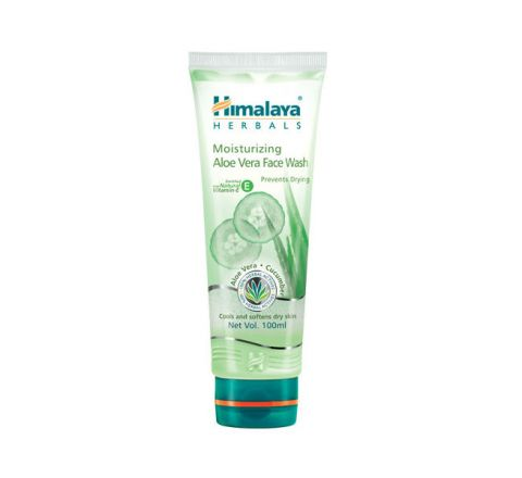 Himalaya Moisturizing Aloe Vera Face Wash - 100ml