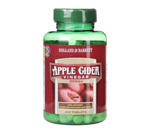 Vitamins & Minerals Supplement  in Bangladesh at Kikinben  - Holland & Barrett Apple Cider Vinegar 400 Tablets 300mg