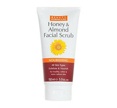 Beauty Formulas Honey & Almond Facial Scrub - 150ml