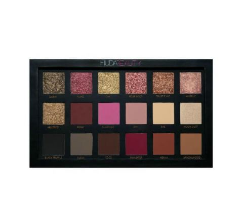 Huda Beauty Textured Shadows Palette - Rose Gold Edition