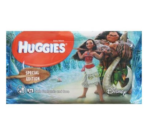 Huggies Baby Wipes Disney Special Edition Moana 56 Wipes