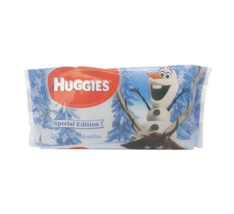 Huggies Baby Wipes Singles Special Edition Disney Frozen – 56 Wipes