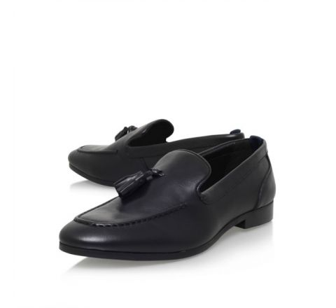 Coleman Leather Tassel Detail Loafer - Kurt Geiger