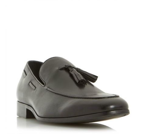 Rolands Chisel Toe Tassel Loafers - Dune London