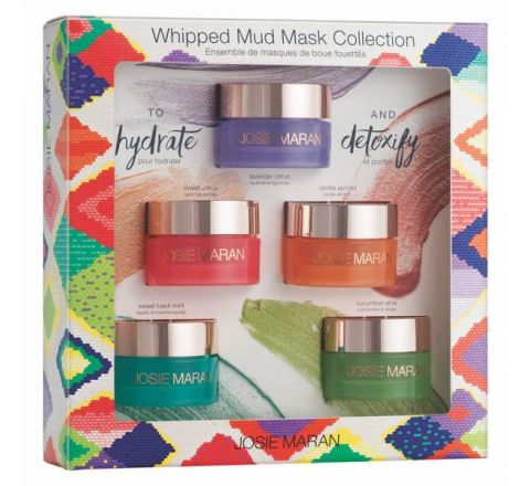 Josie Maran Argan Oil Whipped Mud Mask Collection
