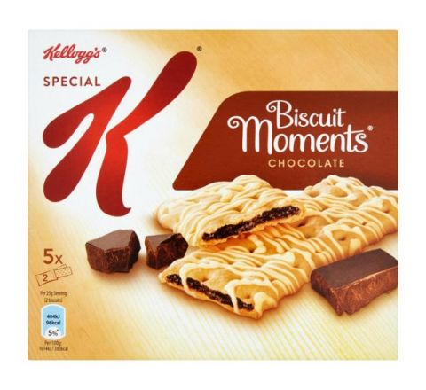 Kelloggs Special K Biscuit Moments Chocolate 125G - 5 Pack 25g