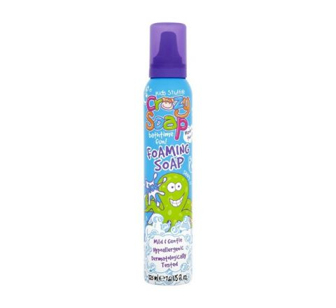 Kids Stuff Crazy Soap Bathtime Fun Foaming Soap Blue 225ml