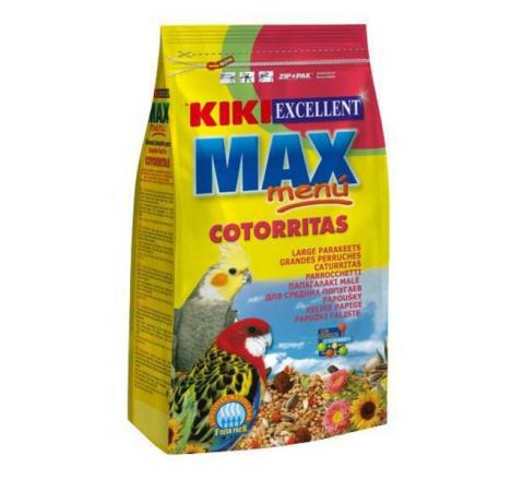 KIKI Excellent Max Menu Cotorritas For Large Parakeet Food KIKI-329