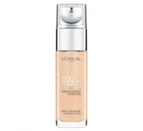 L'Oreal Paris True Match Foundation 4.W Natural Gold 30ml