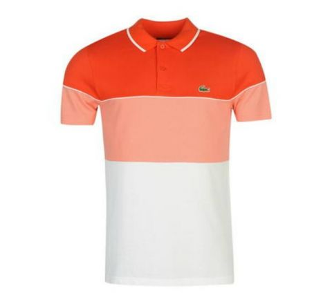 Lacoste 3 Block Stripe Polo Shirt