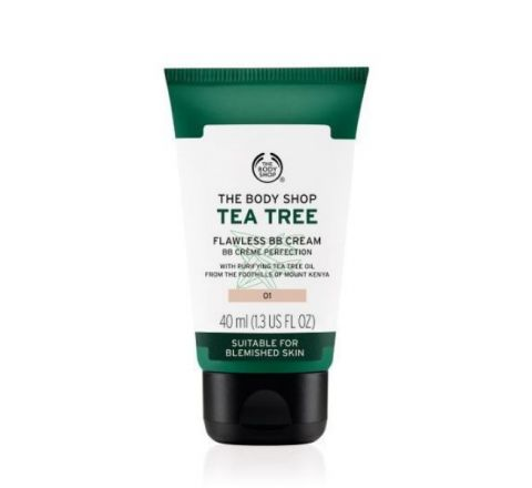 The Body Shop Tea Tree Flawless BB Cream - 01 Light (40ml)
