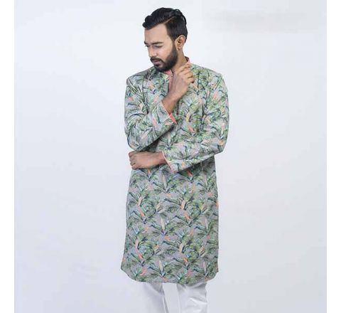 LAVELUX Cotton Multi-color Mens Panjabi LMP111