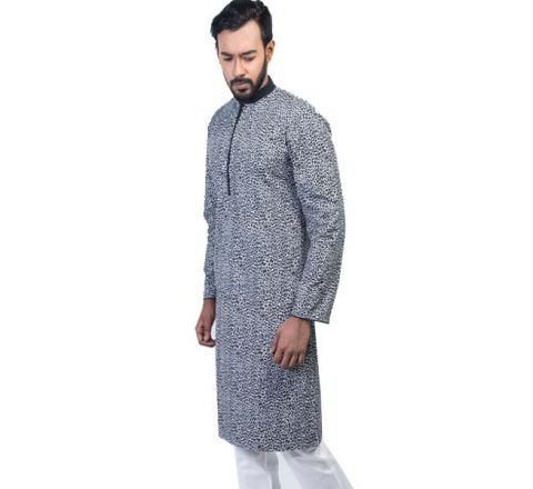 LAVELUX Semi Cotton Multicolor Mens Panjbai LMP114