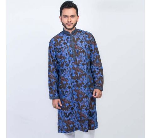 LAVELUX Cotton Multi-color Mens Panjabi LMP118