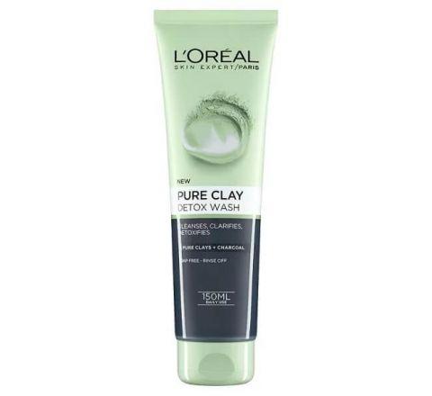 L'Oreal Paris Pure Clay Detox Foam Wash 150ml